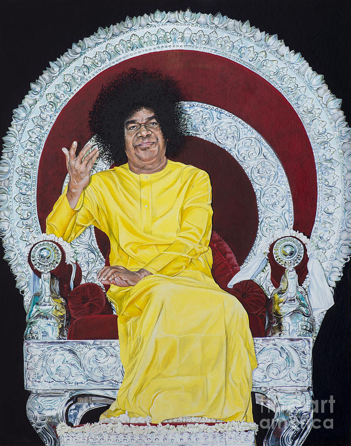 Sathya Sai Baba  Painting
