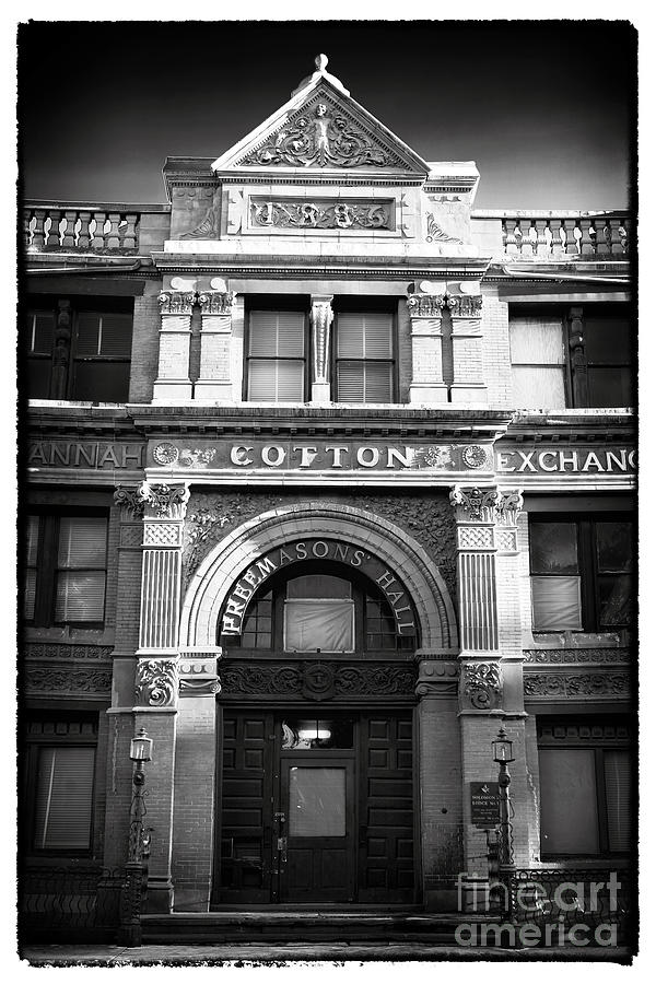 Savannah Cotton Exchange Photograph  - Savannah Cotton Exchange Fine Art Print
