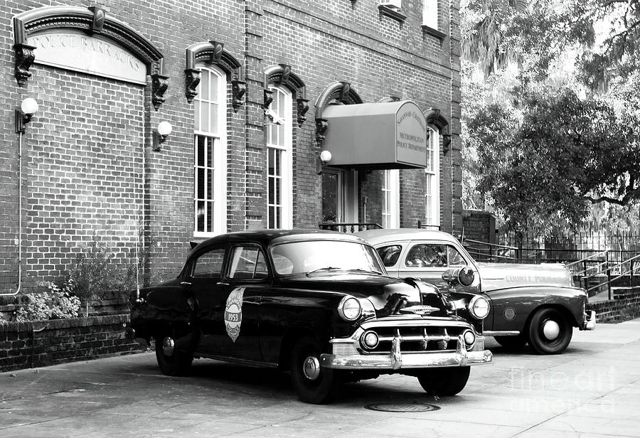 Savannah Police Station Photograph
