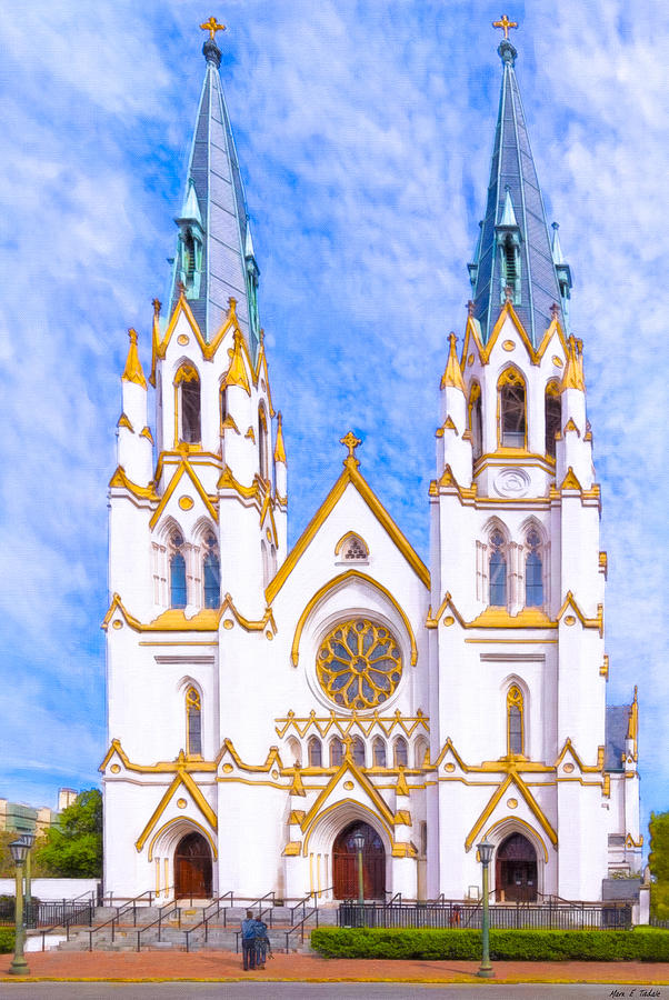 Savannahs Fairytale Cathedral Photograph  - Savannahs Fairytale Cathedral Fine Art Print
