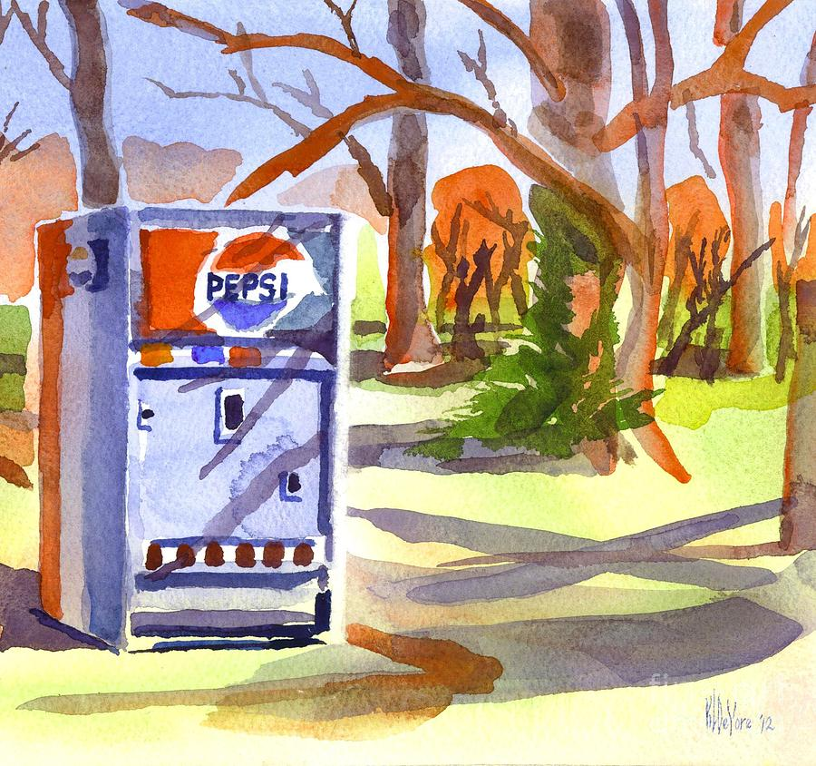 Say Pepsi Please Painting  - Say Pepsi Please Fine Art Print