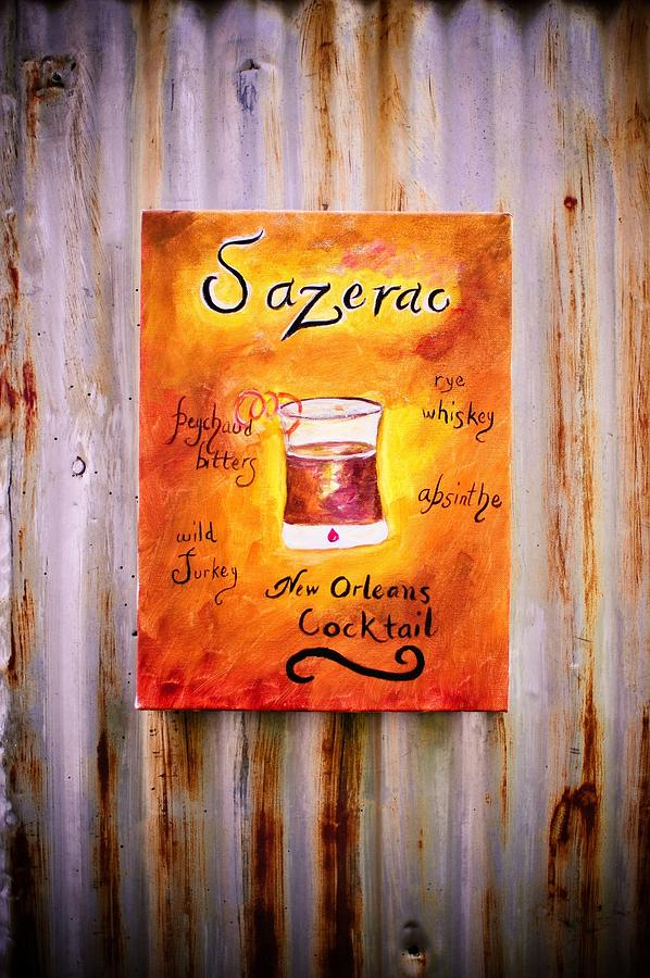 Sazerac On Rust Mixed Media