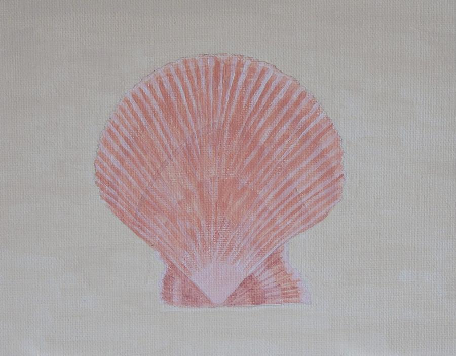 Scallop Shell by Connie Campbell Rosenthal