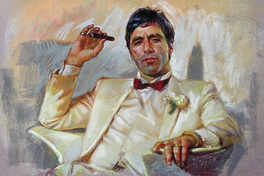 Scarface Pastel - Scarface by Ylli Haruni