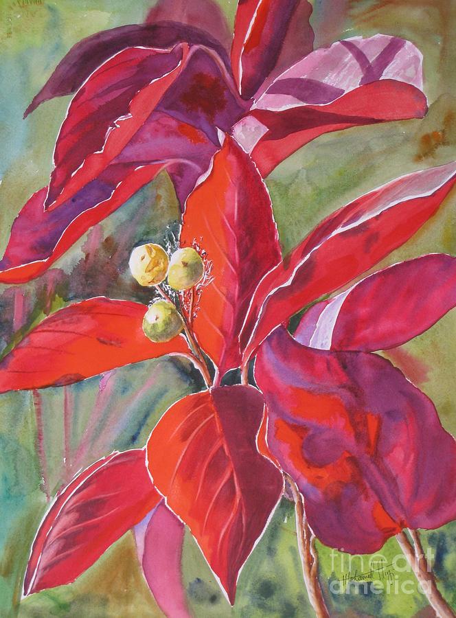 Scarlet Painting