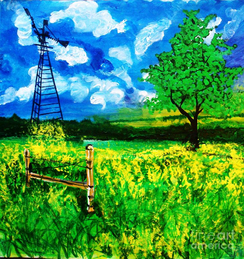 Painting - Scenic by Sonali Singh