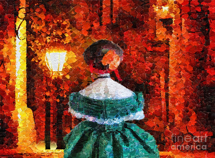 Scent Of A Woman Painting  - Scent Of A Woman Fine Art Print
