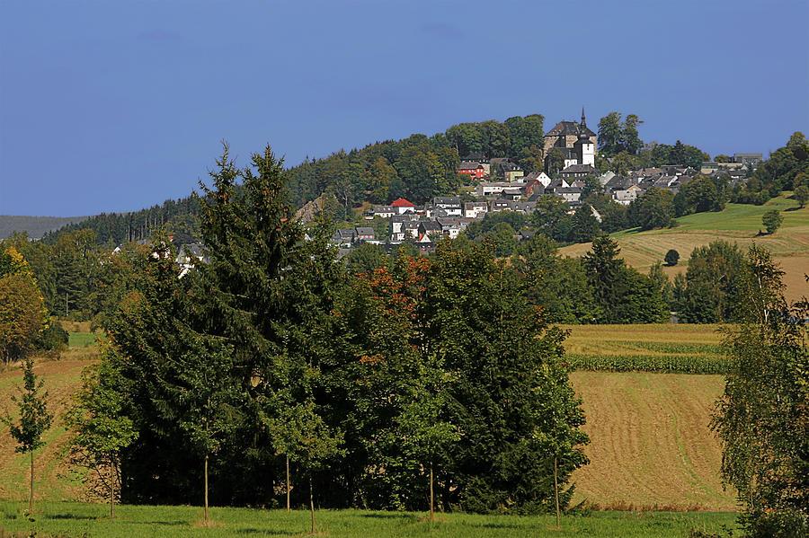 Schauenstein - A Typical Upper-franconian Town Photograph