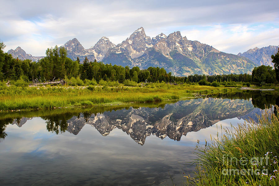 Schwabacher Landing Grand Tetons Photograph