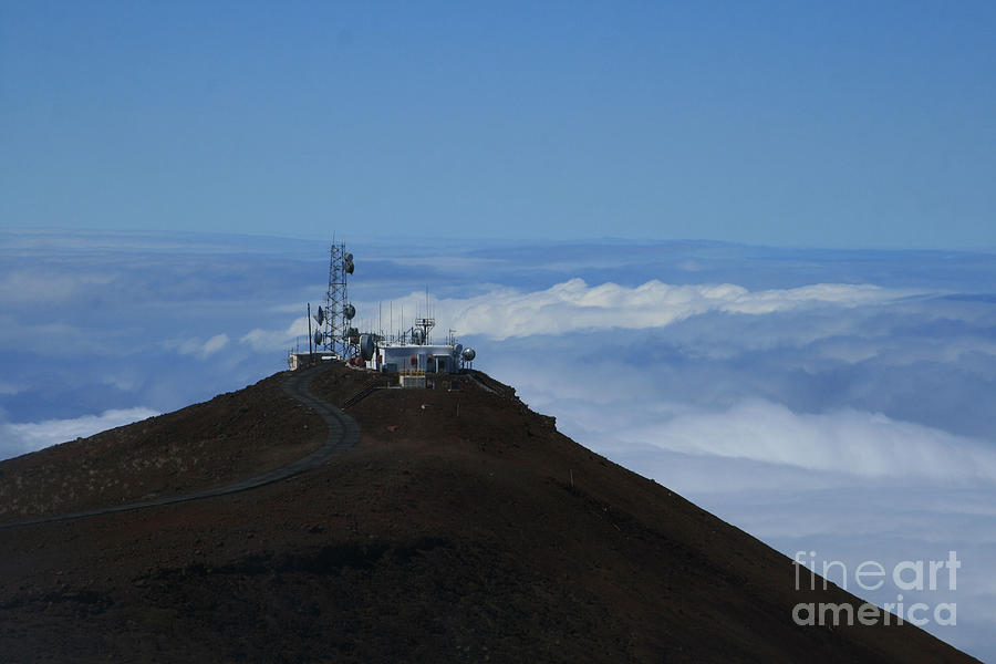 Science City Haleakala Photograph  - Science City Haleakala Fine Art Print
