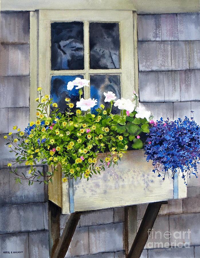 sconset Window Box Painting