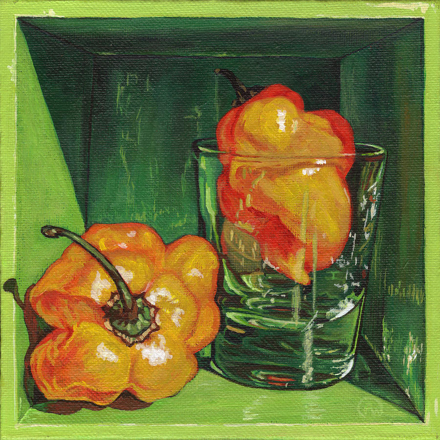 Scotch Bonnet Painting
