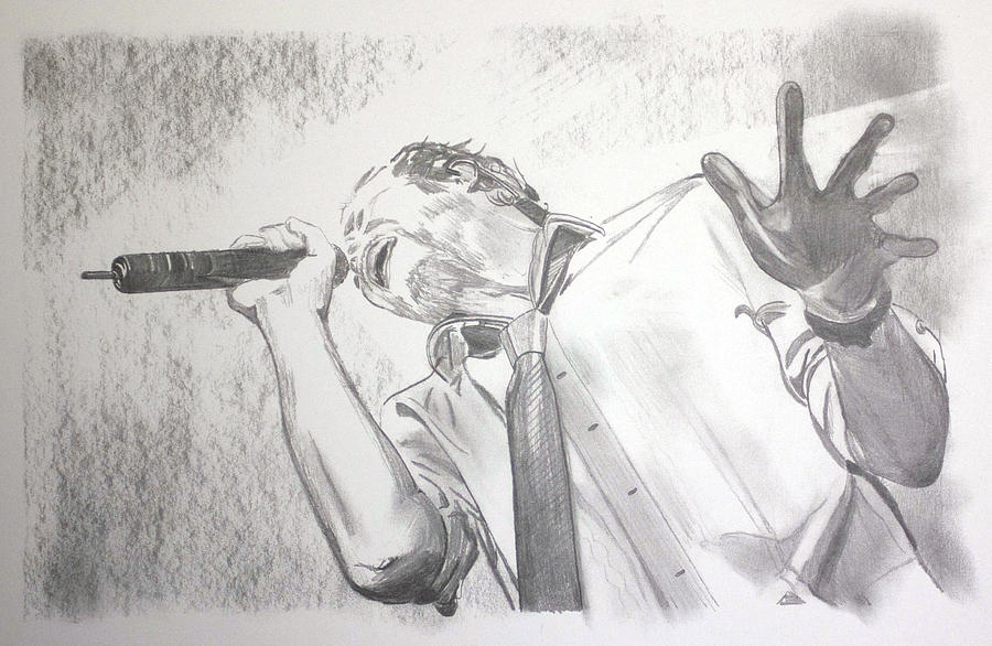 Scott Weiland Drawing