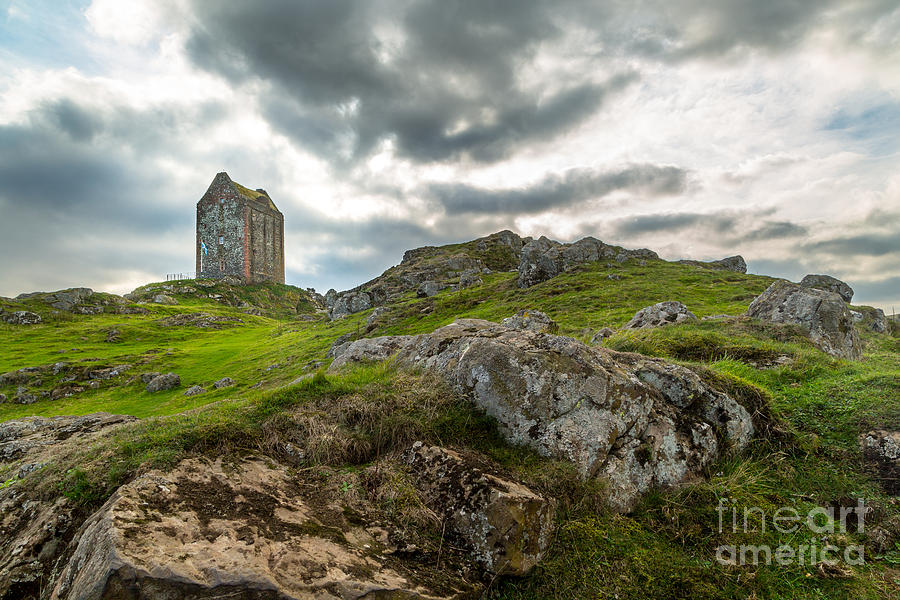 Scottish Borders - Smailholm Tower Photograph  - Scottish Borders - Smailholm Tower Fine Art Print