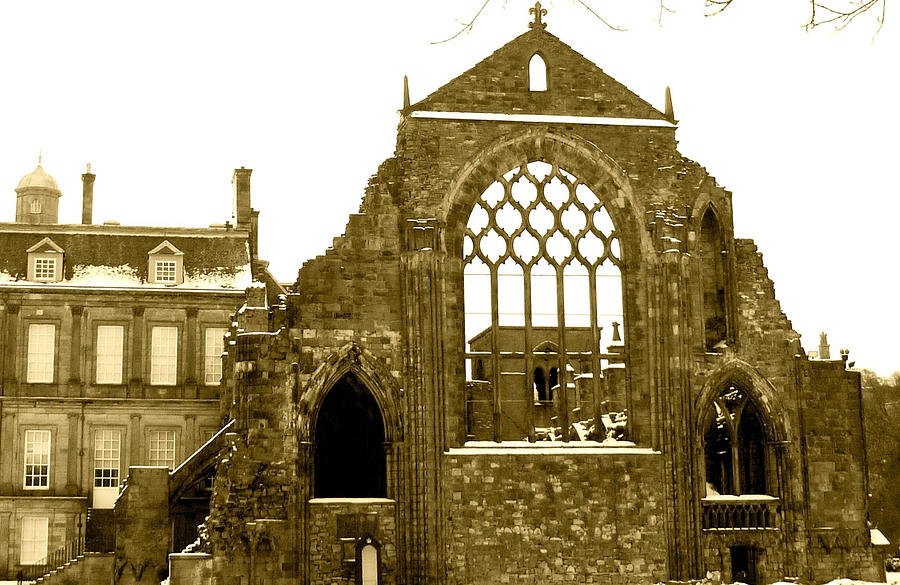 Scottish Ruins Photograph