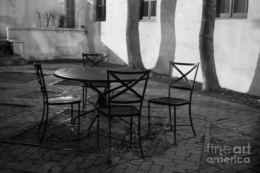 Scripps College Courtyard Photograph  - Scripps College Courtyard Fine Art Print