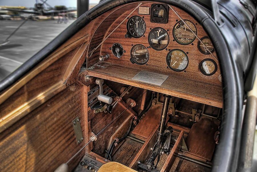 Se5a Cockpit Photograph By Jack Dean
