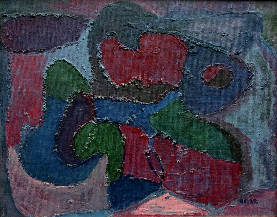 Art Painting - Sea Catch  by Oscar Penalber