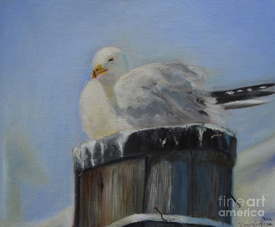 Sea Gull Painting