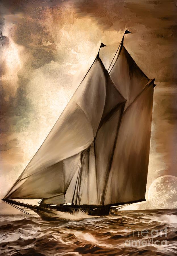 Sea Stories. Painting