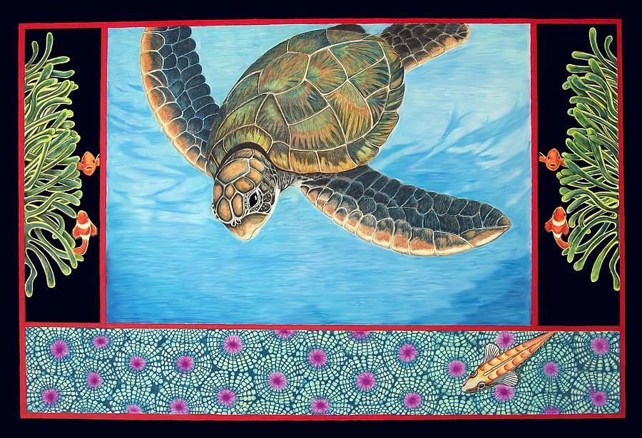 Sea Turtle Drawing