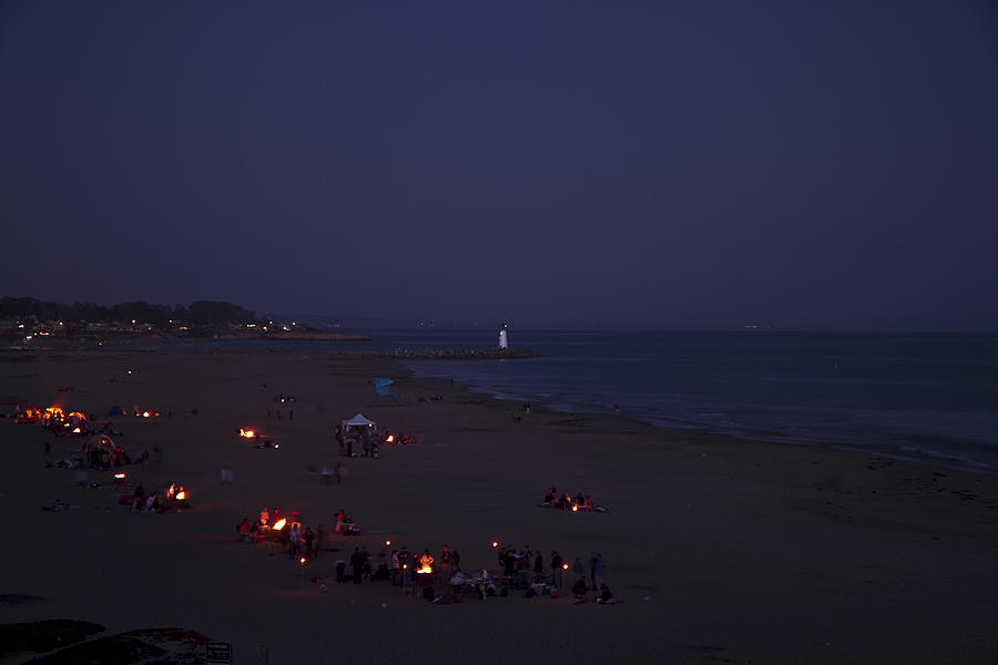 Seabright At Dusk Photograph