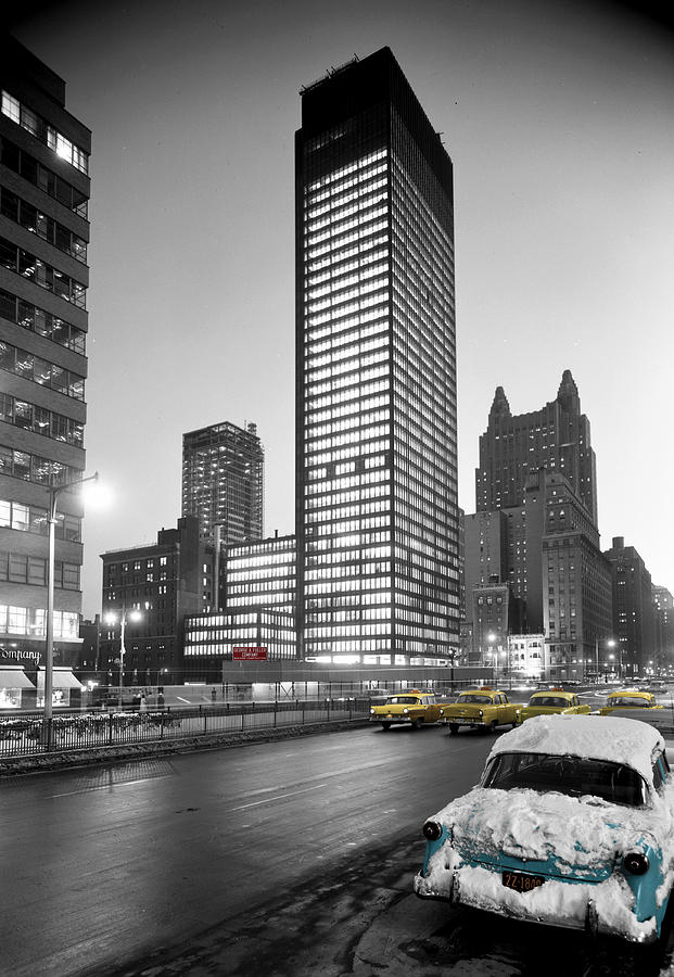 Seagram Building Is A Photograph By Andrew Fare Which Was Uploaded On