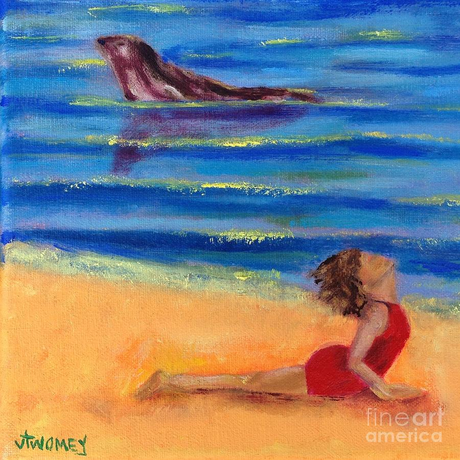 Seal Of Yoga Painting  - Seal Of Yoga Fine Art Print