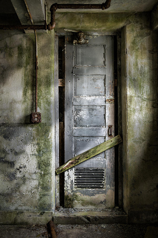 Sealed Door - The Old Door Photograph  - Sealed Door - The Old Door Fine Art Print