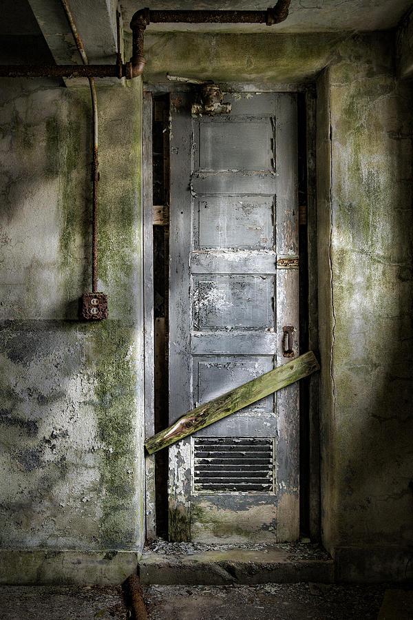 Sealed Door - The Old Door Photograph
