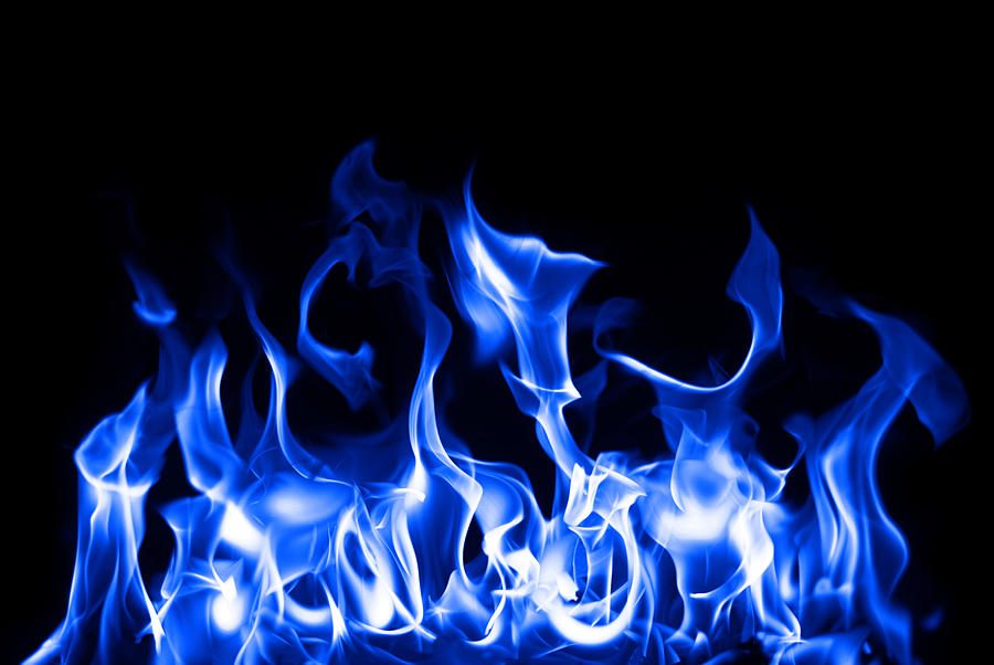 Seamless Gas Fire And Flame Border Photograph By Wanlop Sonngam