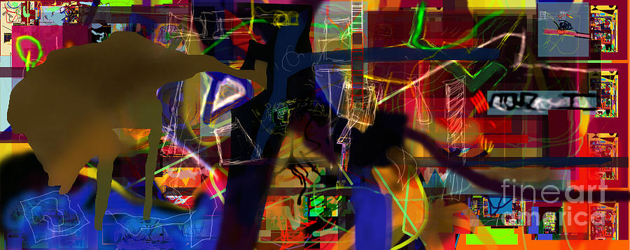 Search For The Straying Son 10 Digital Art