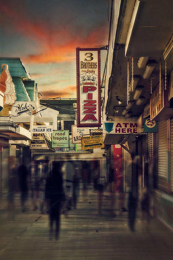 Seaside Boardwalk Photograph  - Seaside Boardwalk Fine Art Print