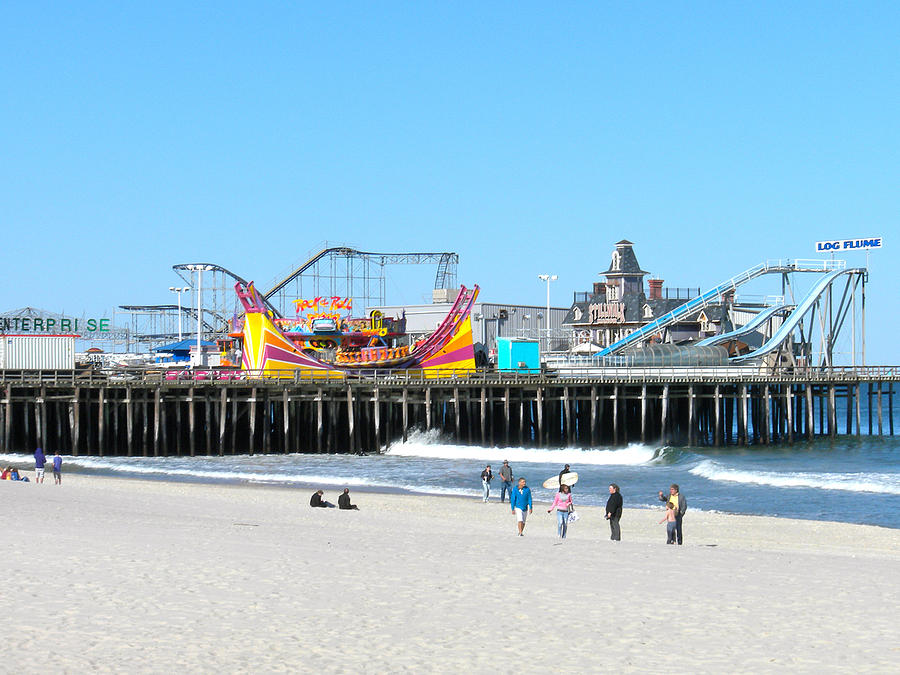 Seaside Casino Pier Photograph