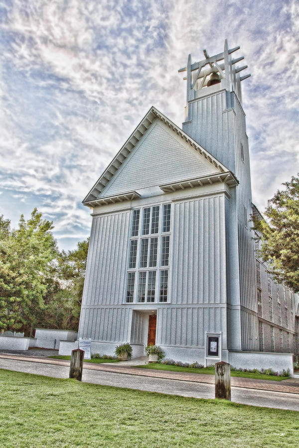Seaside Chapel Photograph  - Seaside Chapel Fine Art Print