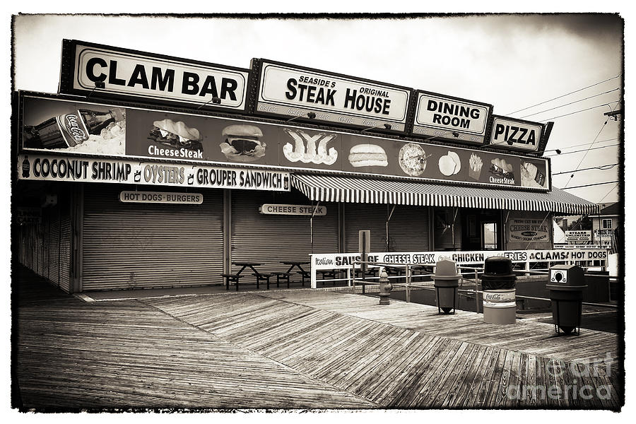Seaside Clam Bar Photograph