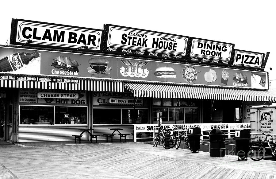 Seaside Dining Photograph  - Seaside Dining Fine Art Print