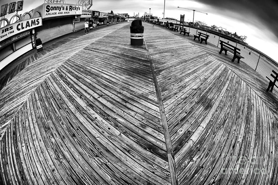Seaside Distorted Photograph