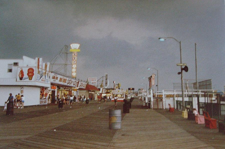 Seaside Heights Storm Photograph  - Seaside Heights Storm Fine Art Print