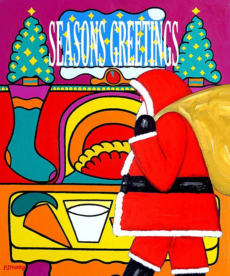 Seasons Greetings 16 Painting
