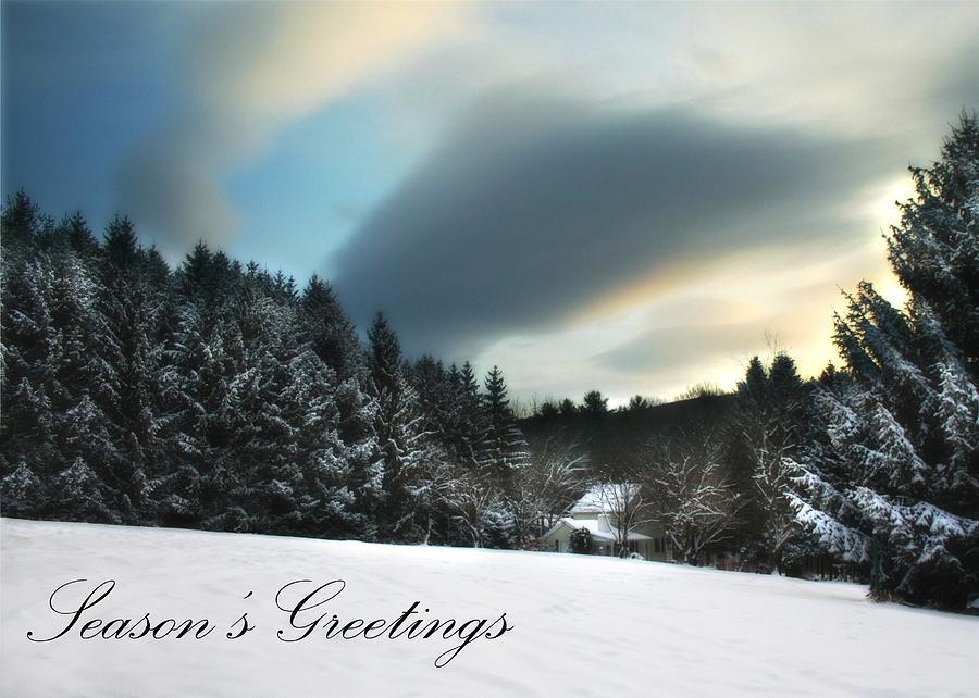 Seasons Greetings - Clarks Valley Photograph