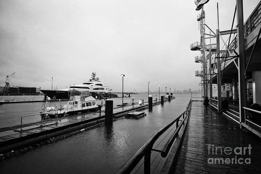 seaspan marine tugboat dock city of north Vancouver BC Canada Photograph