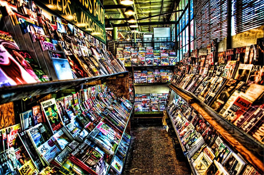Newspaper and magazine stand Rome | Almost a SEO Rocket Scie… | Flickr