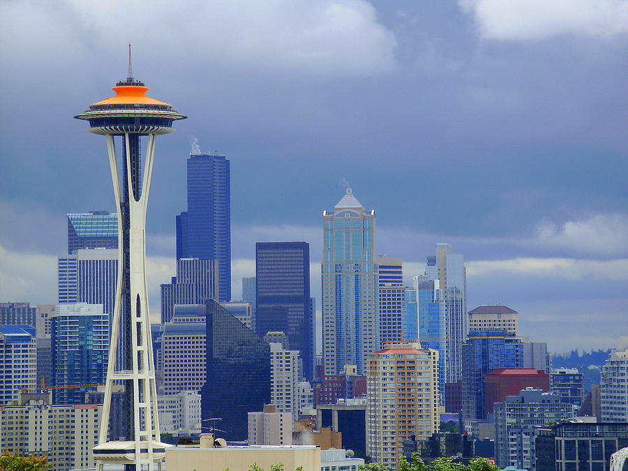 Seattle Skyline Photograph  - Seattle Skyline Fine Art Print