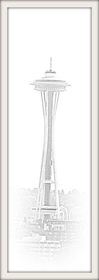 Seattle  Space Needle Photograph