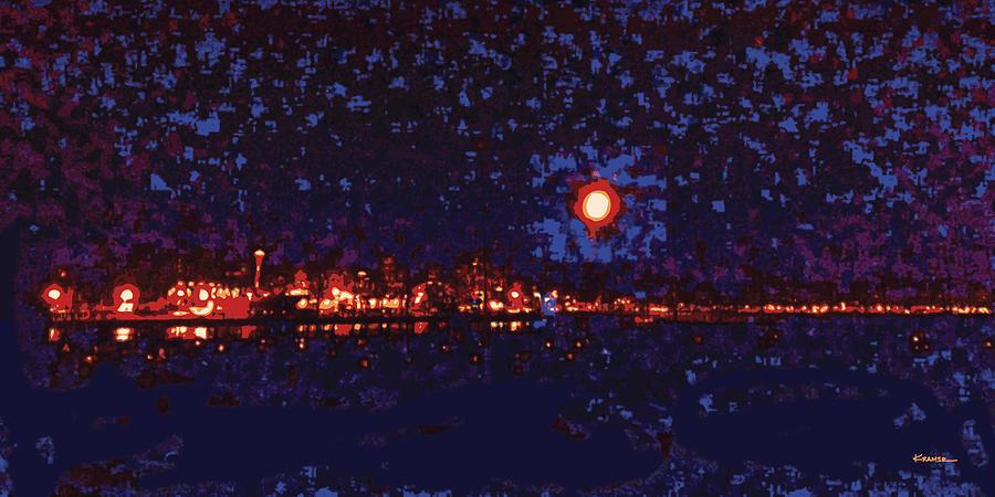 Seattle Waterfront No 1 Digital Art
