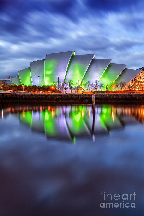 Secc Glasgow Scotland Photograph  - Secc Glasgow Scotland Fine Art Print
