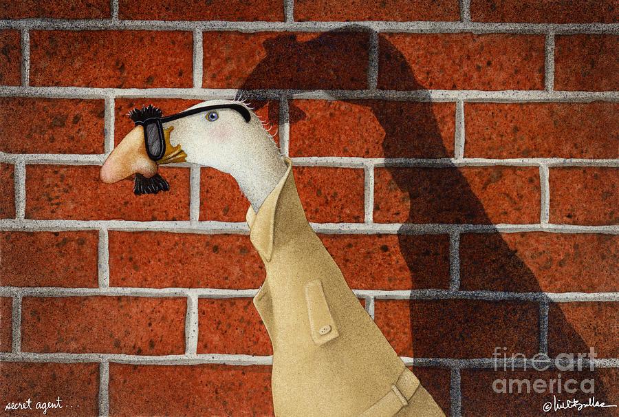 Secret Agent... Painting