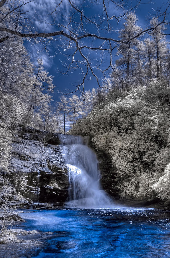 Secret Falls Photograph  - Secret Falls Fine Art Print