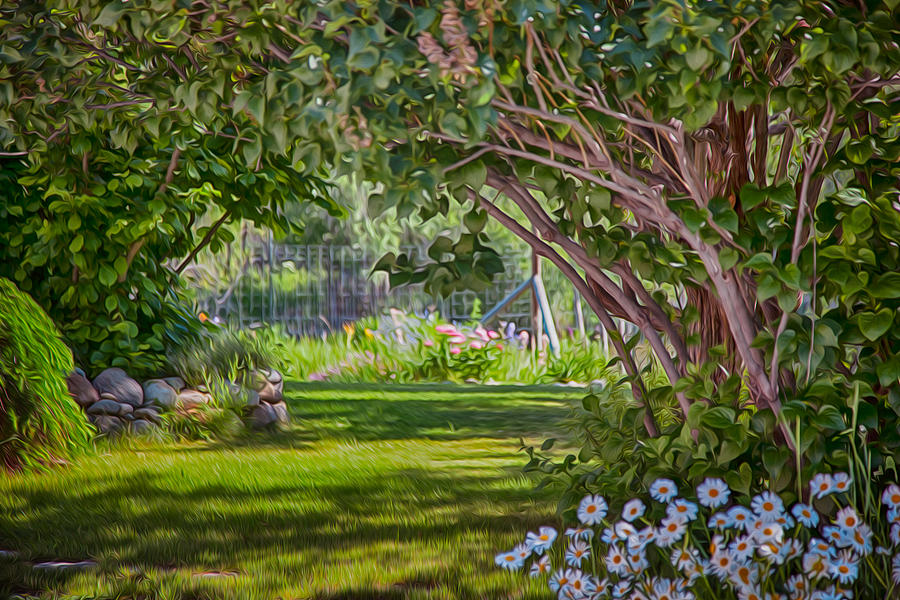 Secret Garden Painting